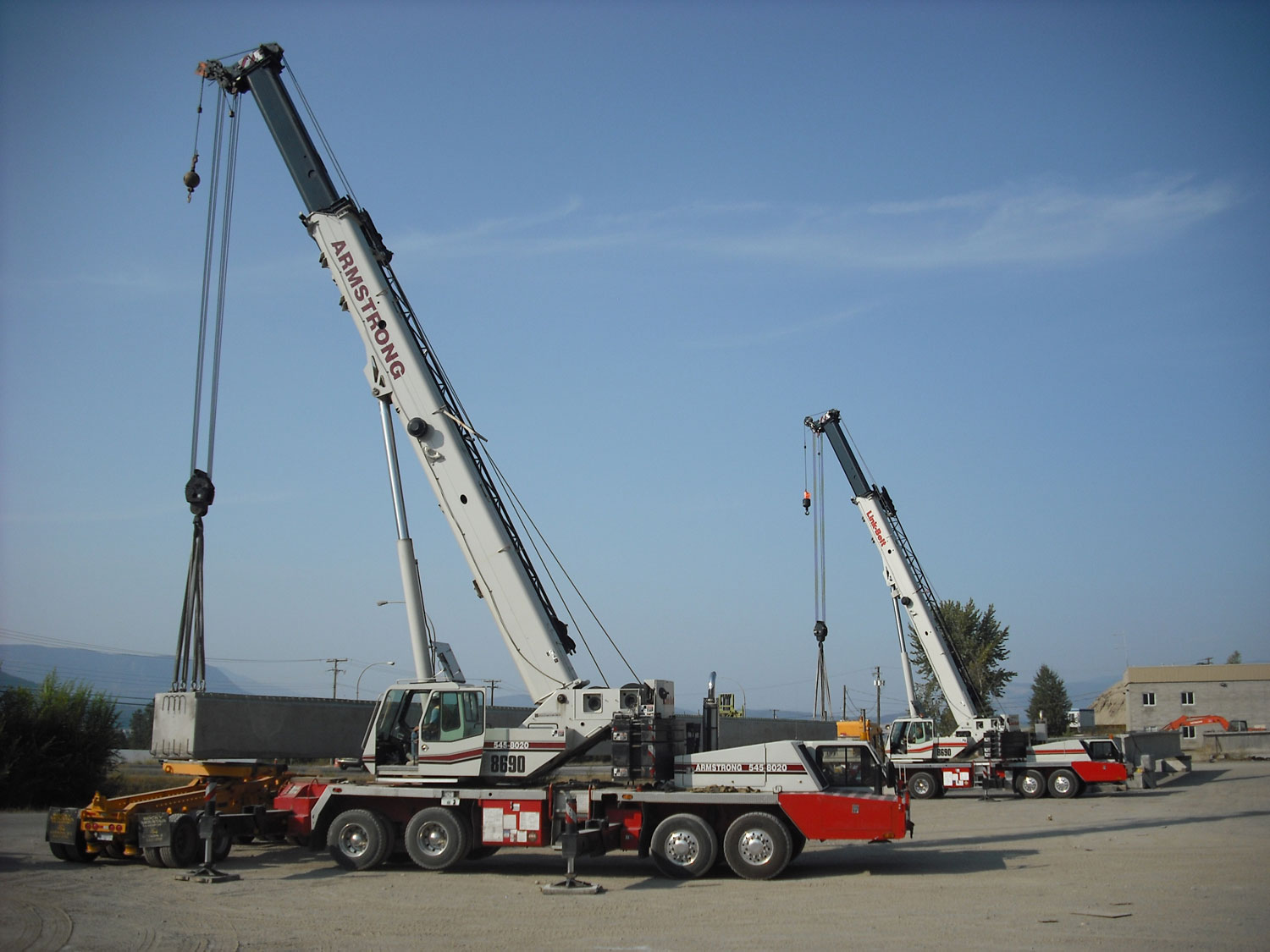 Mobile Crane Rigging : Armstrong crane and rigging inc